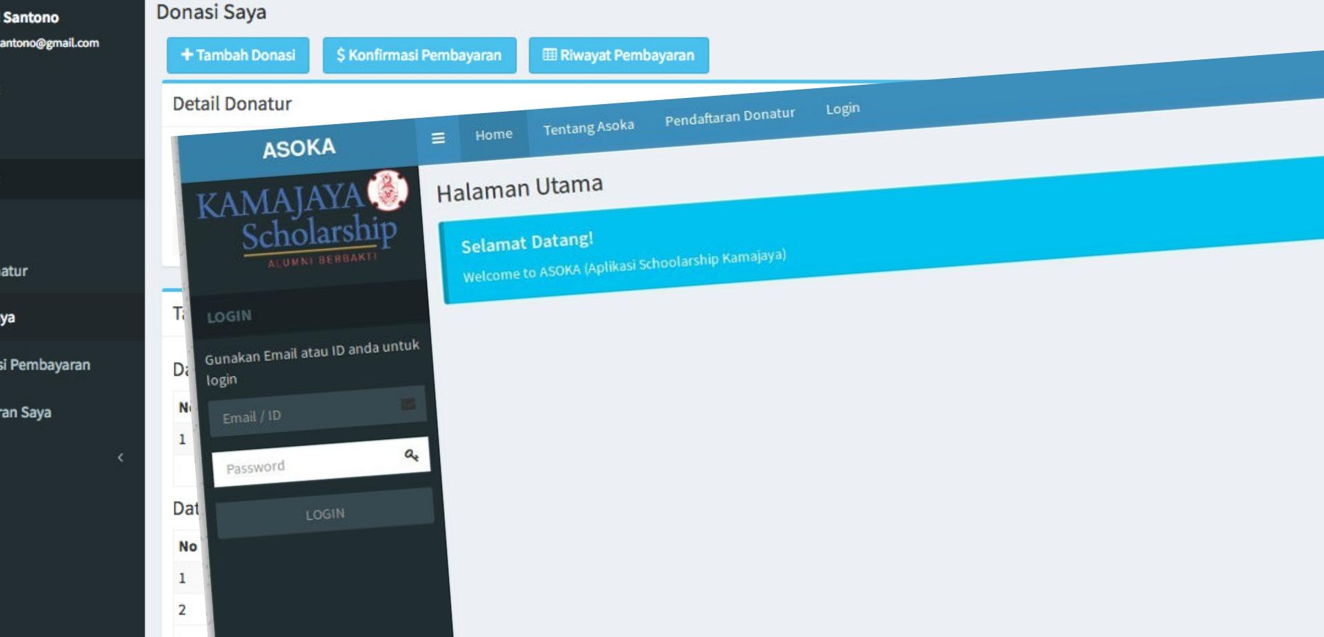 Peluncuran Aplikasi Scholarship Kamajaya