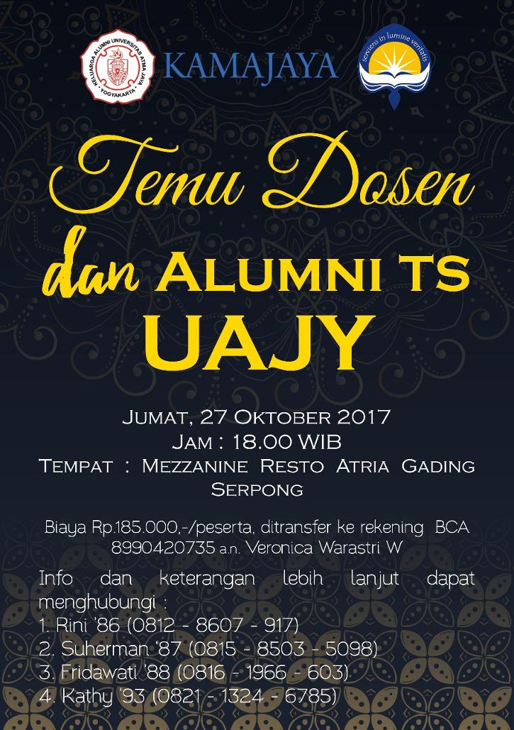 Temu Alumni TS UAJY