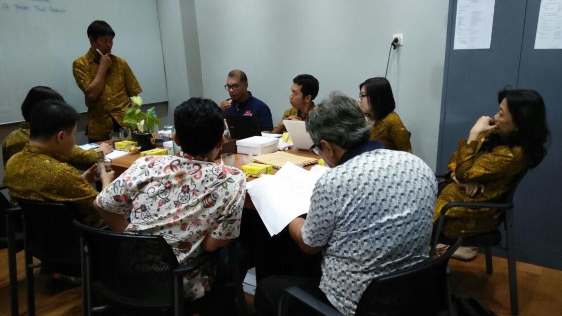 berita rapat pleno beasiswa kamajaya semester gasal 2017 2018