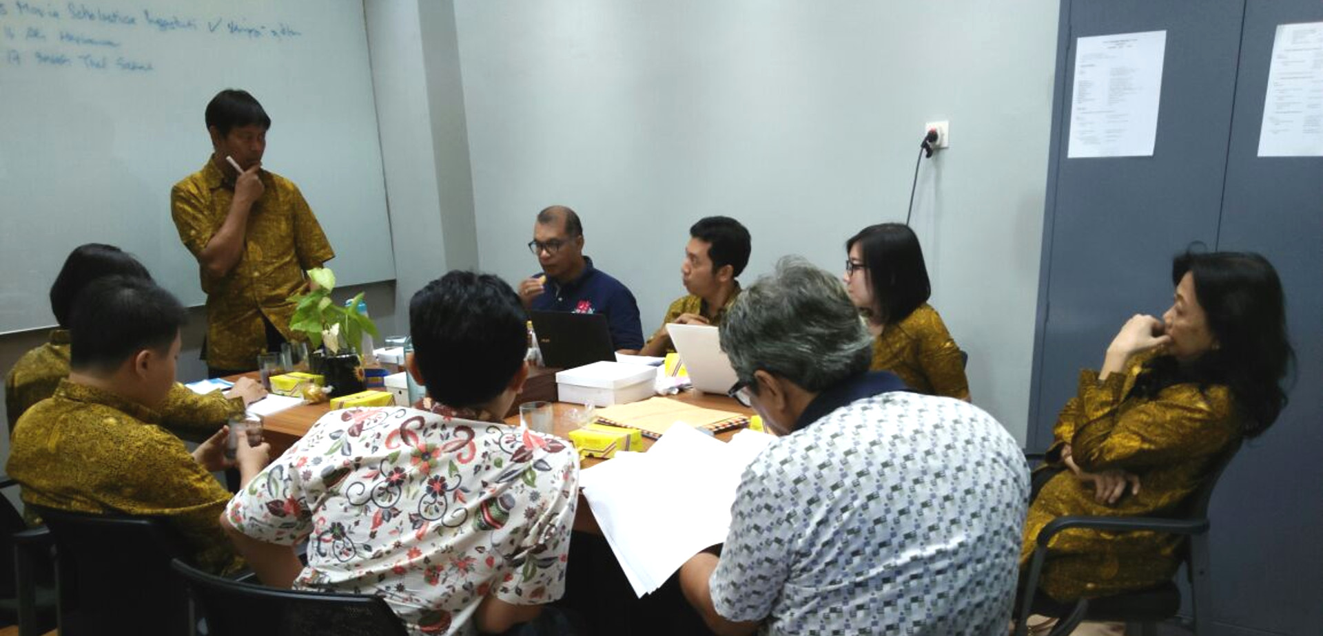 Rapat Pleno Seleksi Beasiswa Kamajaya